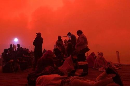 christiane riedel interprète de rêves,incendies criminels en Australie,incendies à Mallacoota,prières pour arrêter le feu,Dieu répond à la prière